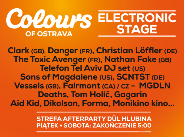 Electronic Stage podczas Colours of Ostrava 2015