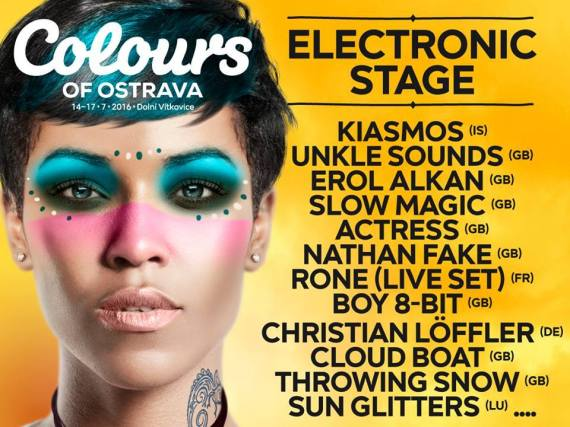 Electronic Stage podczas Colours of Ostrava 2016