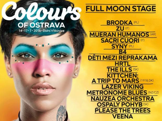 Full Moon Stage podczas Colours of Ostrava 2016