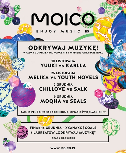 Moico Enjoy Music 2016